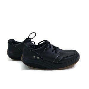 MBT Tariki black leather oxford walking shoes sz 9